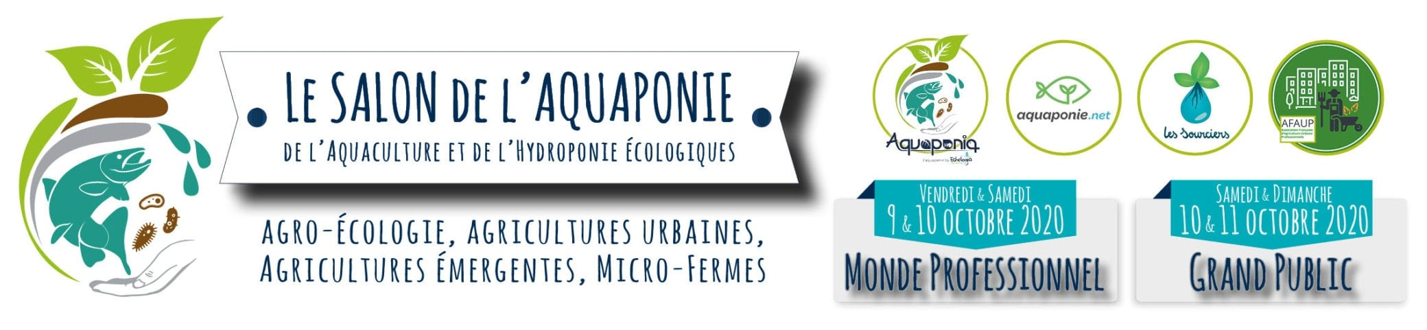 Salon de l'aquaponie 9 au 11 octobre 2020